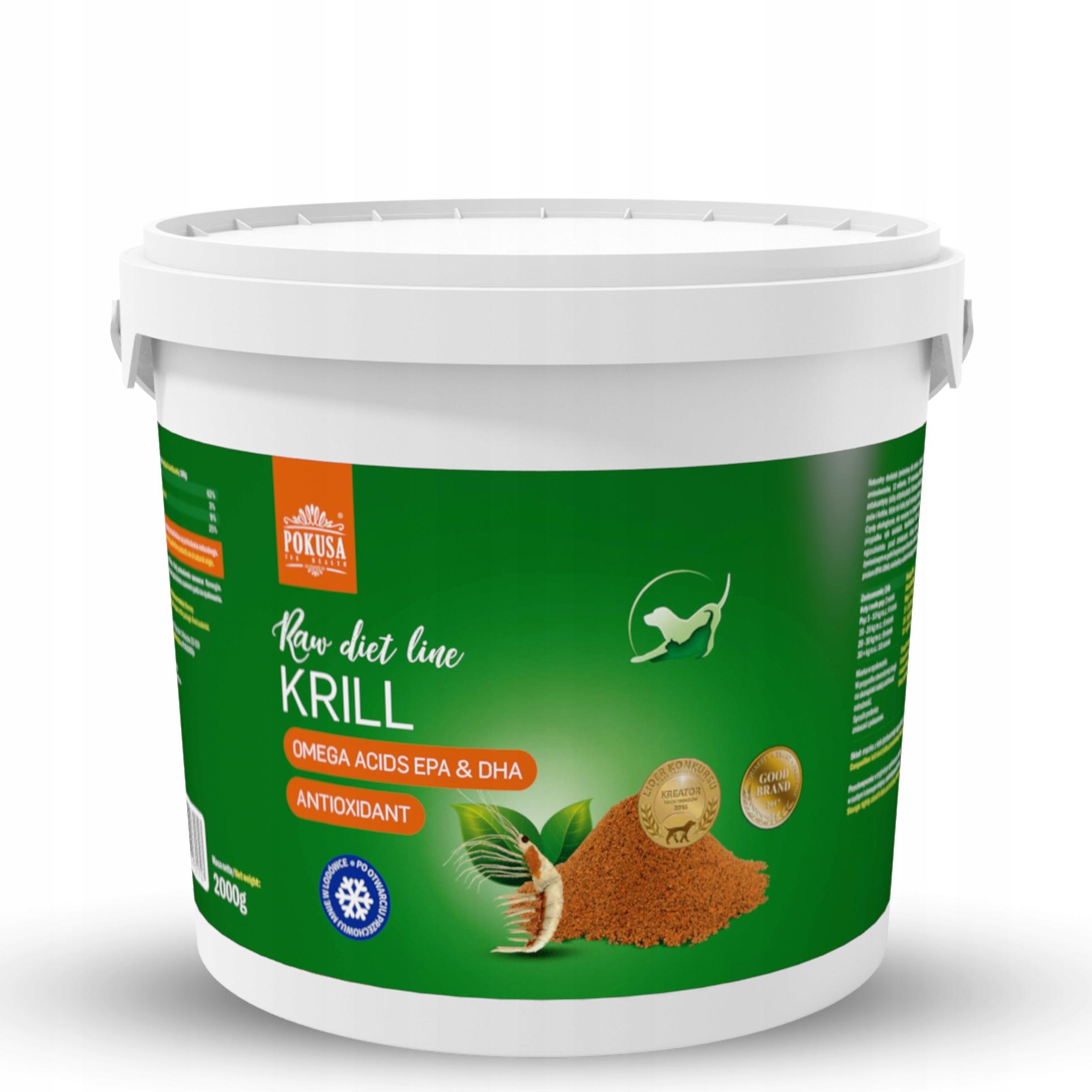 POKUŠENIA Krill RawDietLine Kryl pre psov a mačky-2000g