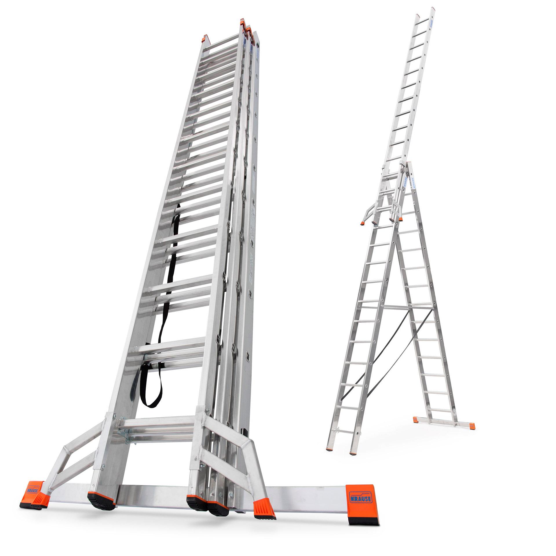 Лестница алюминиевая 3x14 KRAUSE PROFESSIONAL + TRIGON