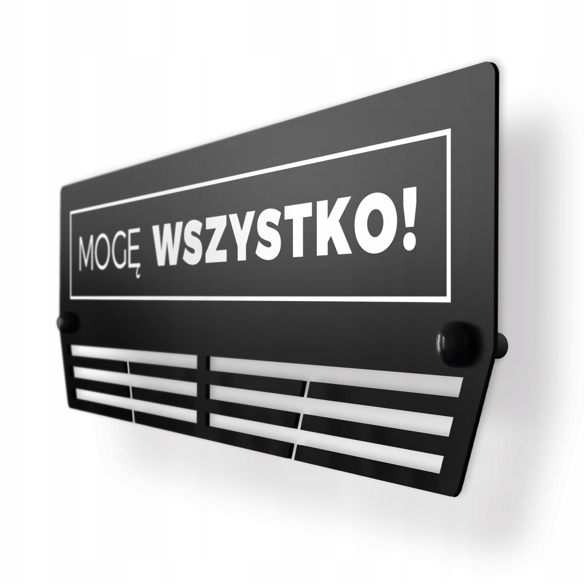 Купить Я МОГУ ВСЕ   ВЕШАЛКА НА МЕДАЛИ   БОЛЬШОЙ XL   ХИТ на Otpravka - цены и фото - доставка из Польши и стран Европы в Украину.