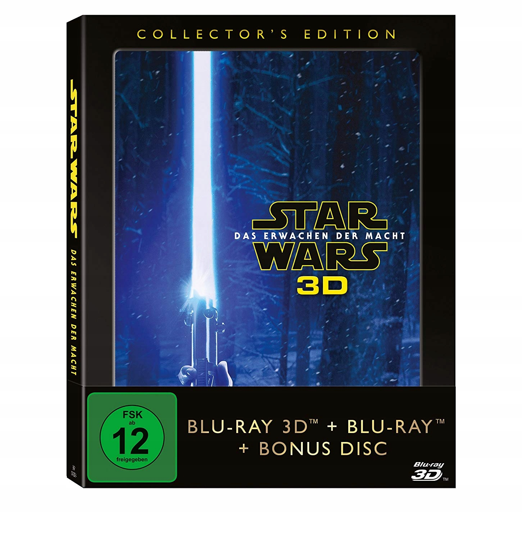Item STAR WARS: the Force awakens (3 Blu-ray 3D) EN