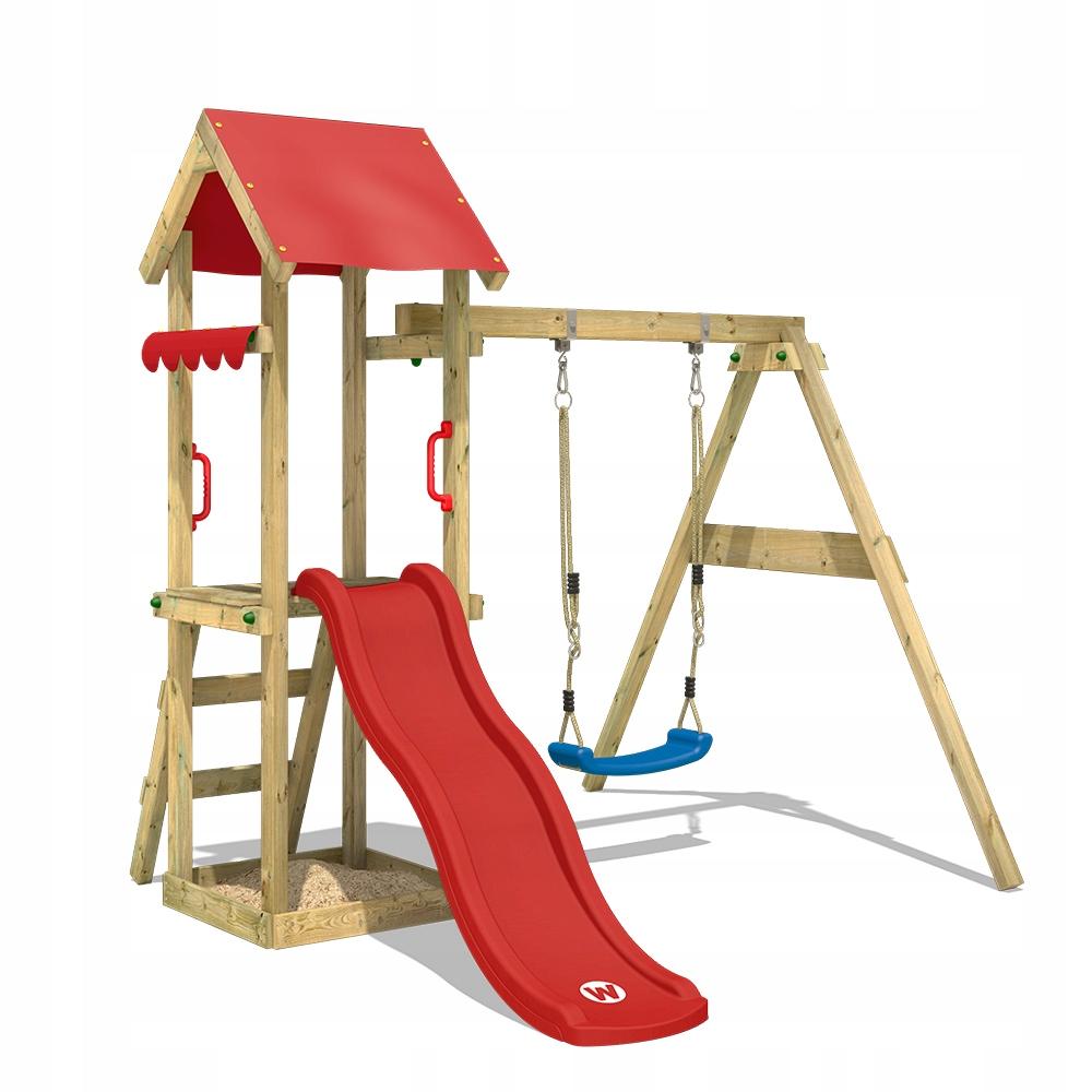 WICKEY TinyWave drewniany plac zabaw dla dzieci