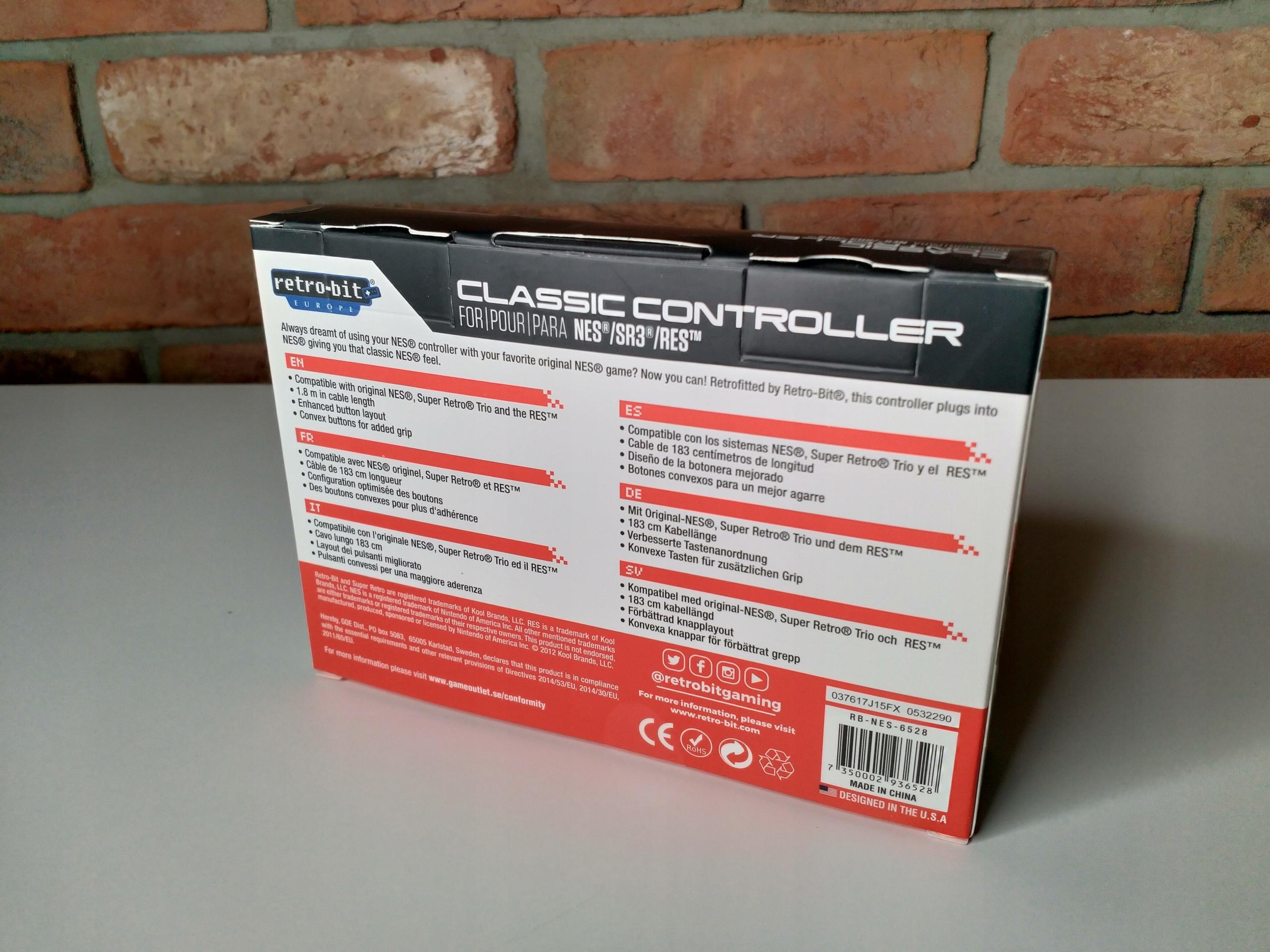 Купить Ретро бит NES Классический Контроллер Геймпад FV23 24 ЧАСА на Otpravka - цены и фото - доставка из Польши и стран Европы в Украину.
