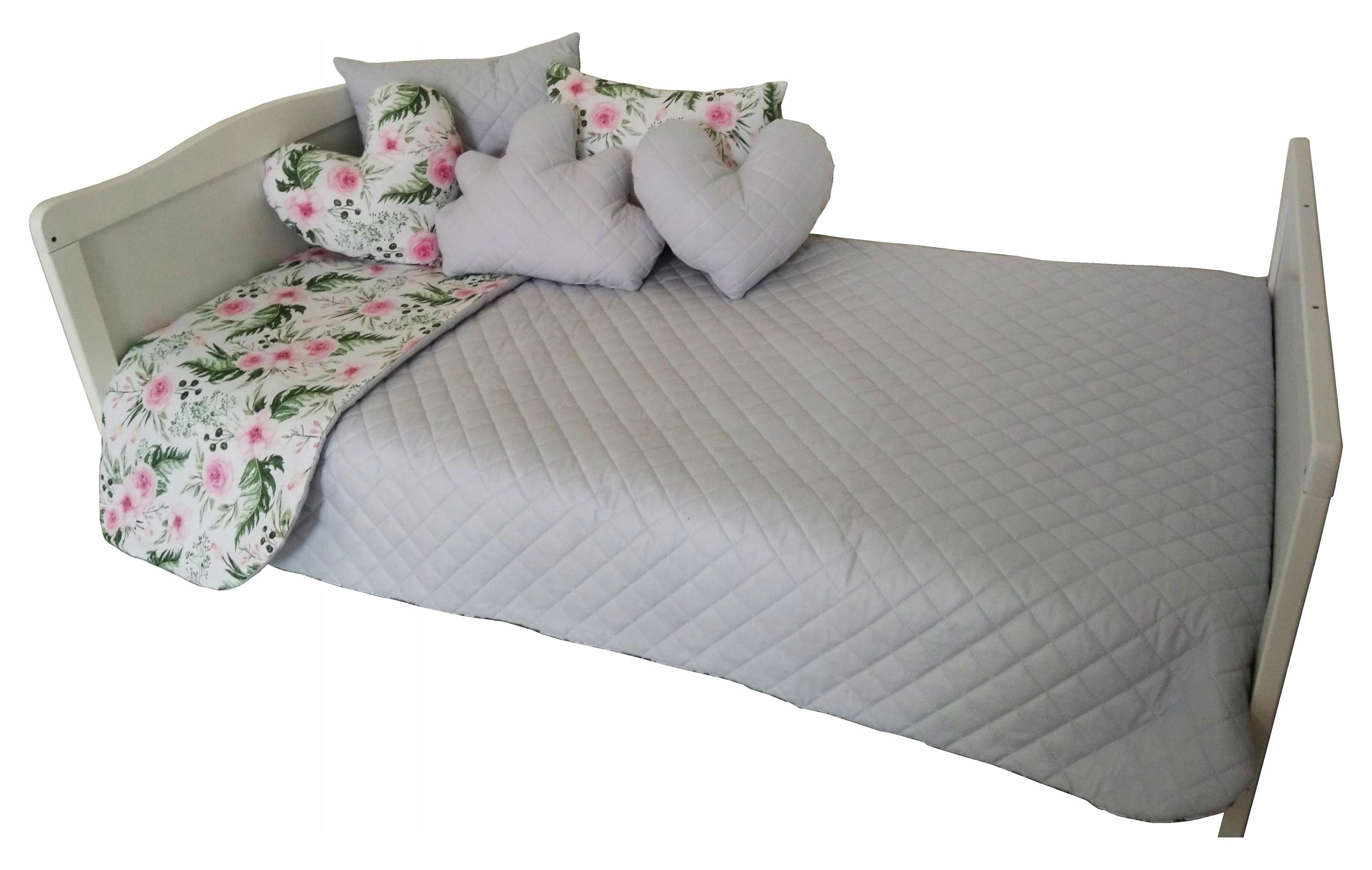 75a61a81f707a4 Narzuta na łóżko dziecięce pikowana 120x200 GRATIS 7908163868 - Allegro.pl