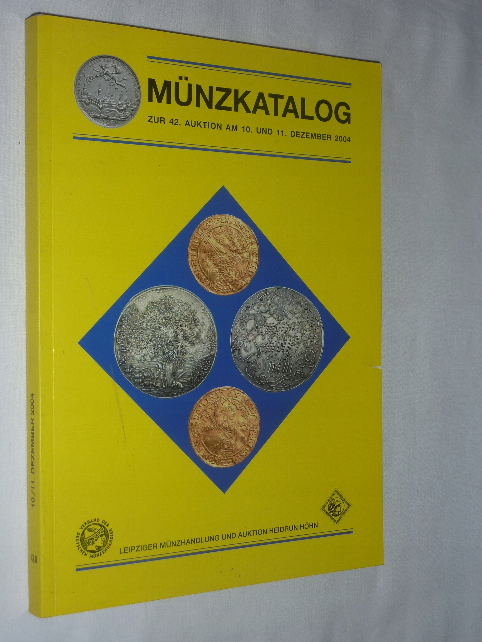 KATALOG AUKCYJNY,MUNZKATALOG AUKCJA 10 i 11,2004 r
