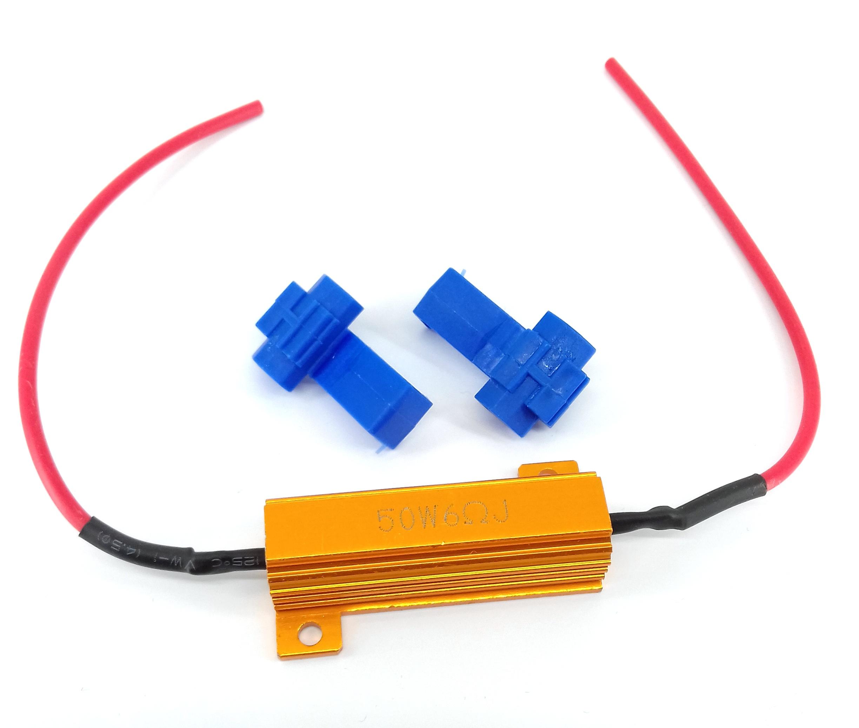 Резистор - декодер ошибка CANBUS 50 ВТ 10 Ом 12-24V