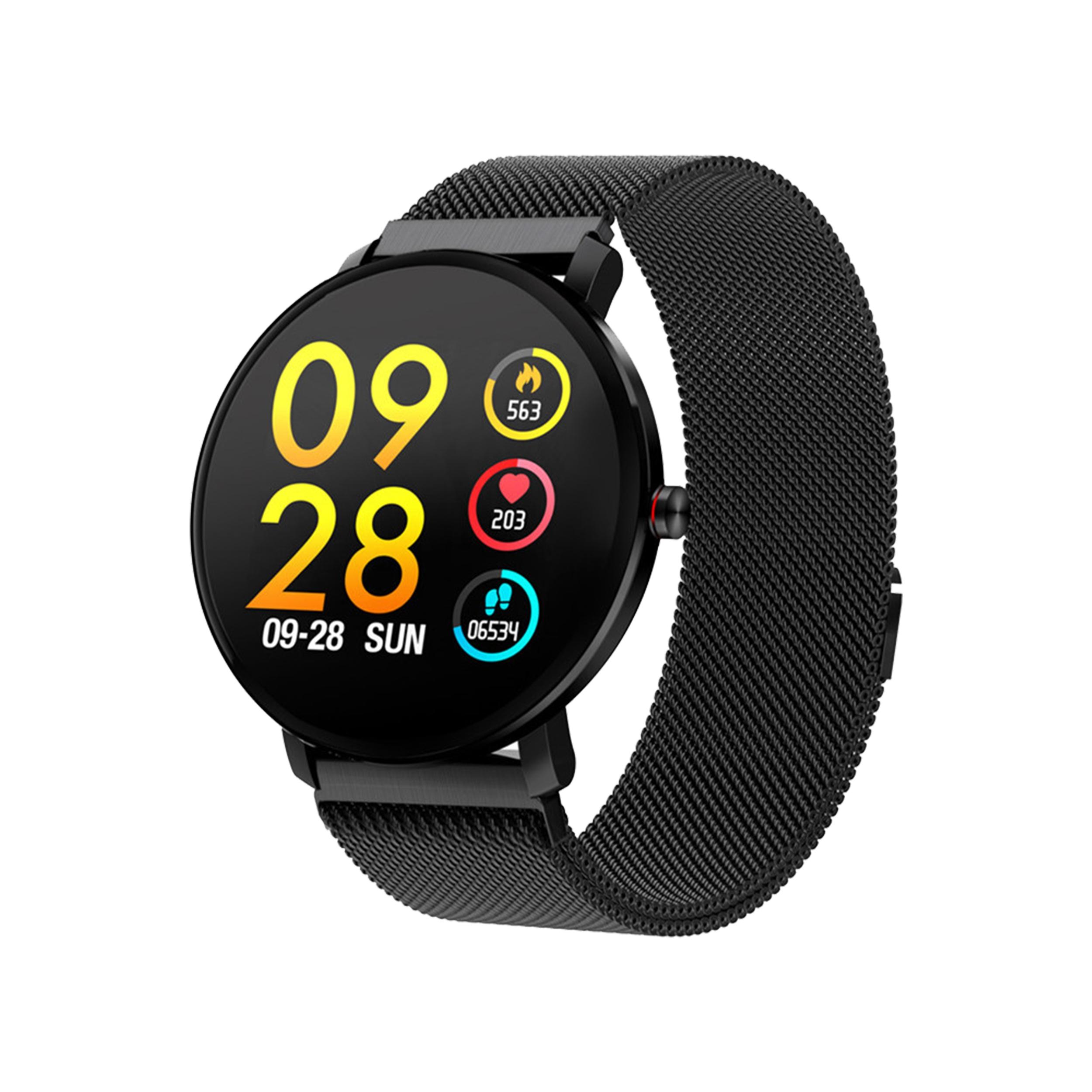 Купить SmartWatch K9 ЖЕНСКИЕ наручные часы ТОНОМЕТР MESH на Otpravka - цены и фото - доставка из Польши и стран Европы в Украину.