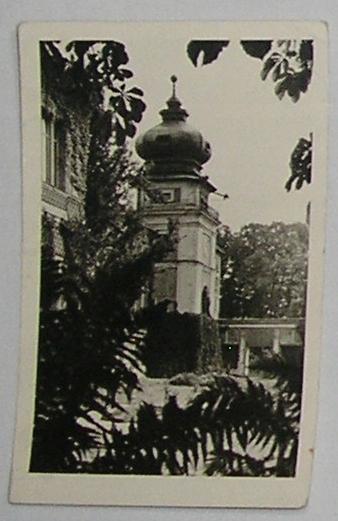 1956 r. ŁAŃCUT STARA POCZTÓWKA CZARNO - BIAŁA