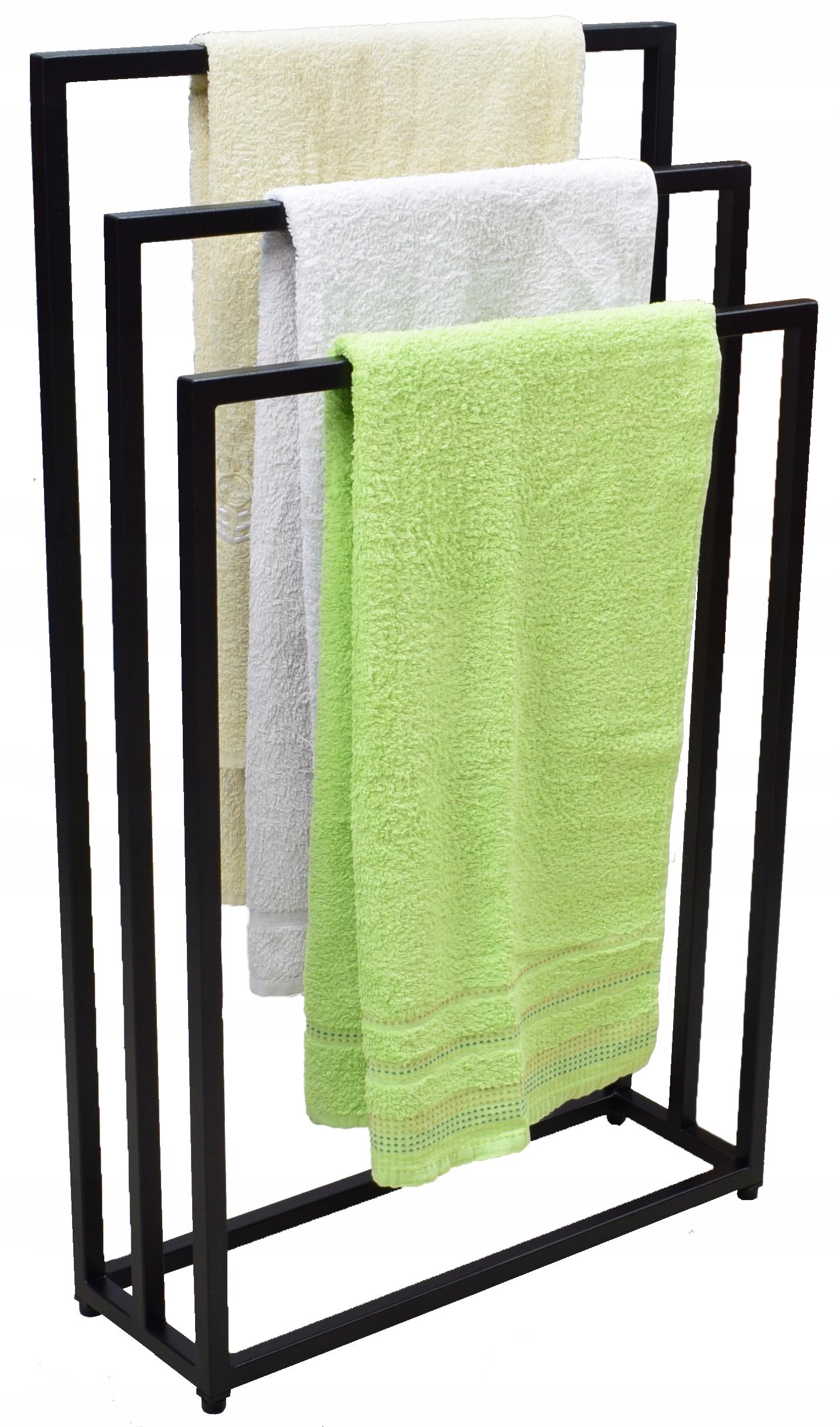 * NOVINKA * Trojitý stojan na uteráky - podkrovie