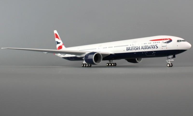Купить Модель Boeing 777-300 British Airways ШАССИ на Otpravka - цены и фото - доставка из Польши и стран Европы в Украину.
