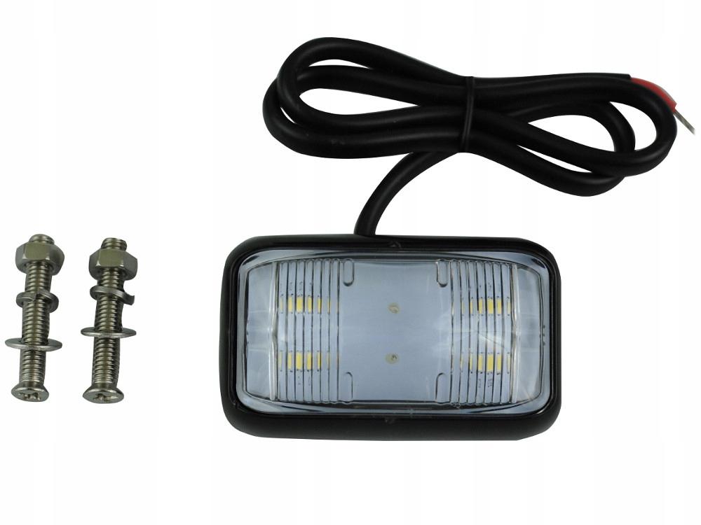 лампа led 4 smd мини 6 см заднего вида 12v 24v g3