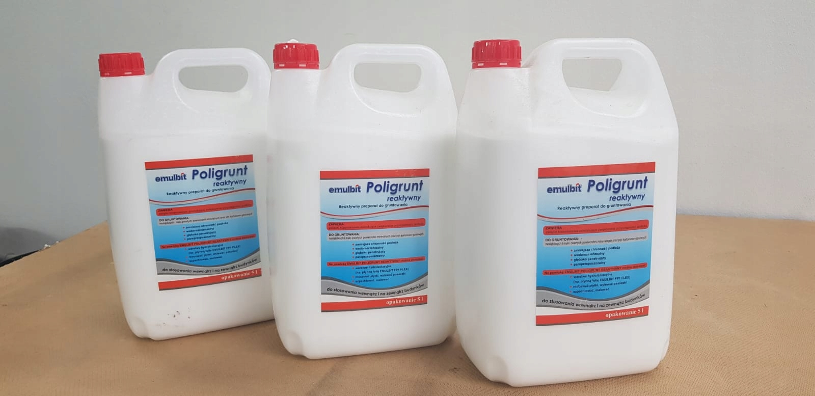 Poligrunt | grunt pod hydroizolacje cementowe | 5l Marka Inny producent