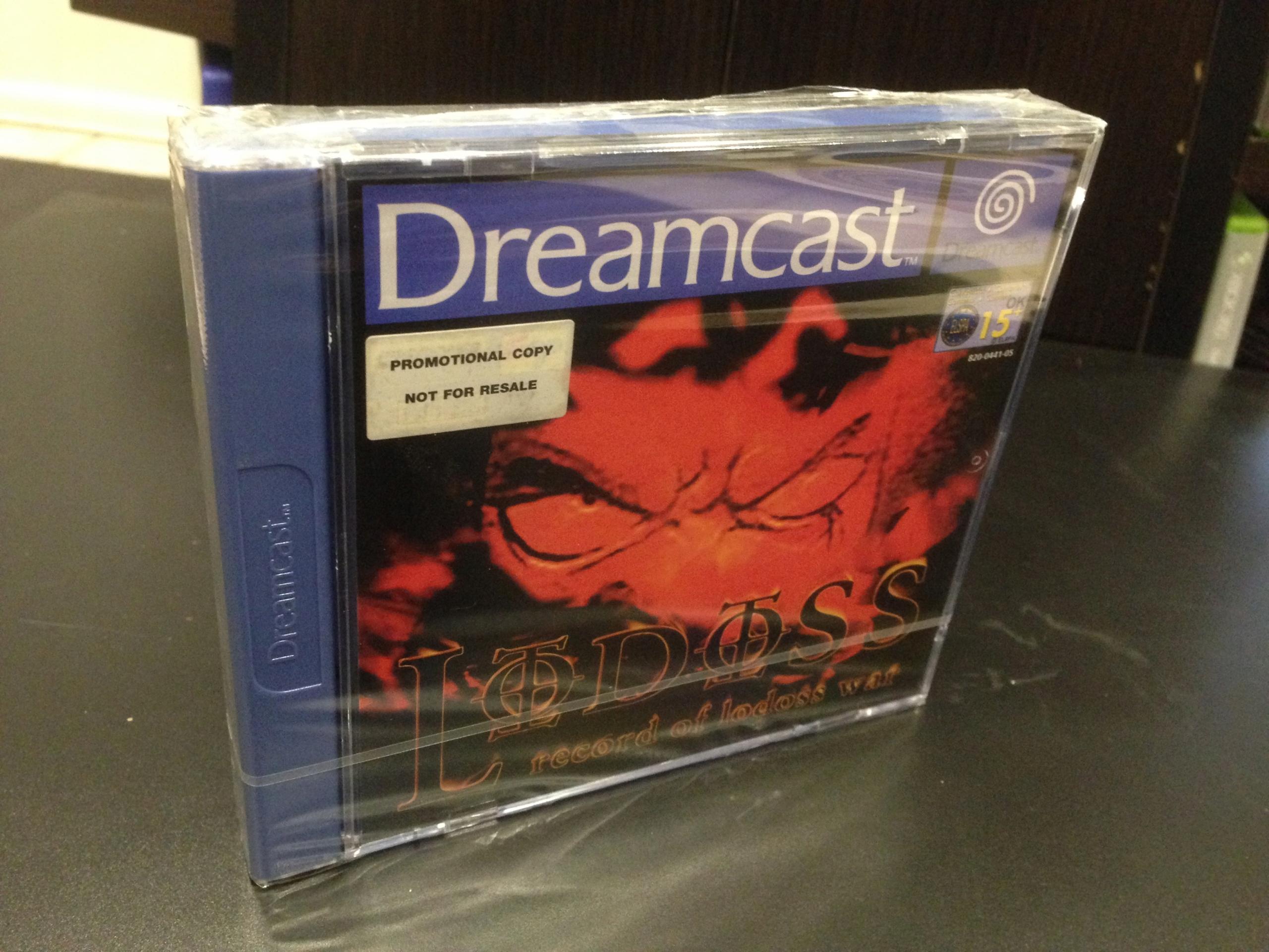 Záznam Lodossovej vojny / Promo / Dreamcast / DC