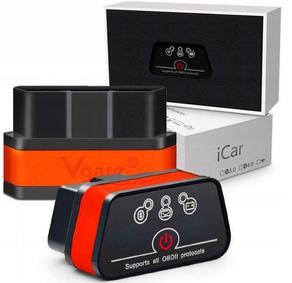 ELM327 iCar2 Vgate OBD2 ТЕСТЕР Bluetooth интерфейс