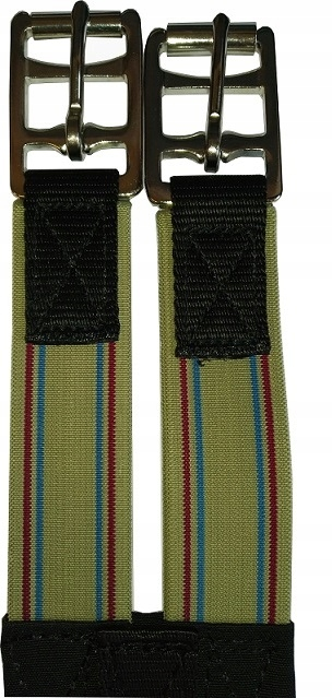 Bavlnené traky s ťahmi pre sedlo.