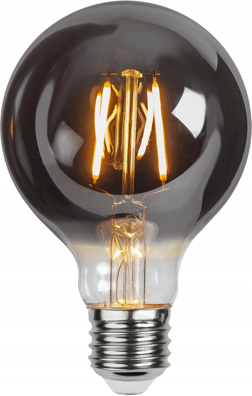 Żarówka LED E27 G80 1,8W Plain Smoke 2100k