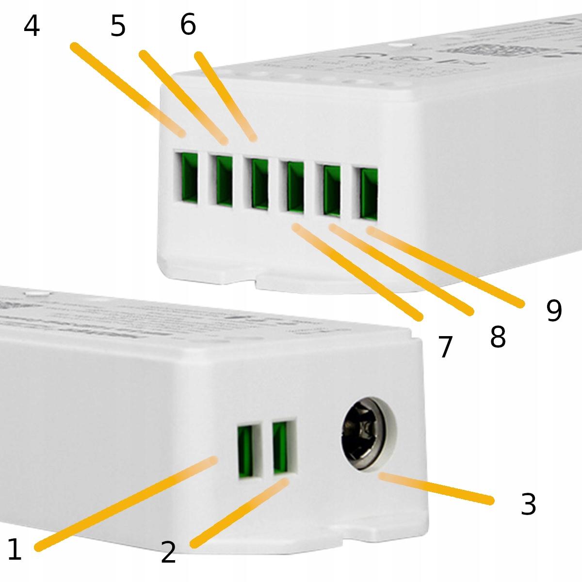 STEROWNIK RGB+CCT WL-5 5in1 WIFI MIBOXER MILIGHT Kod producenta Sterownik MIBOXER WL-5 5in1 MILIGHT