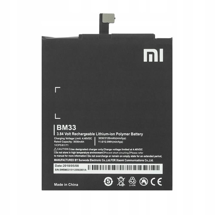 Bateria Xiaomi BM33 Mi 4i