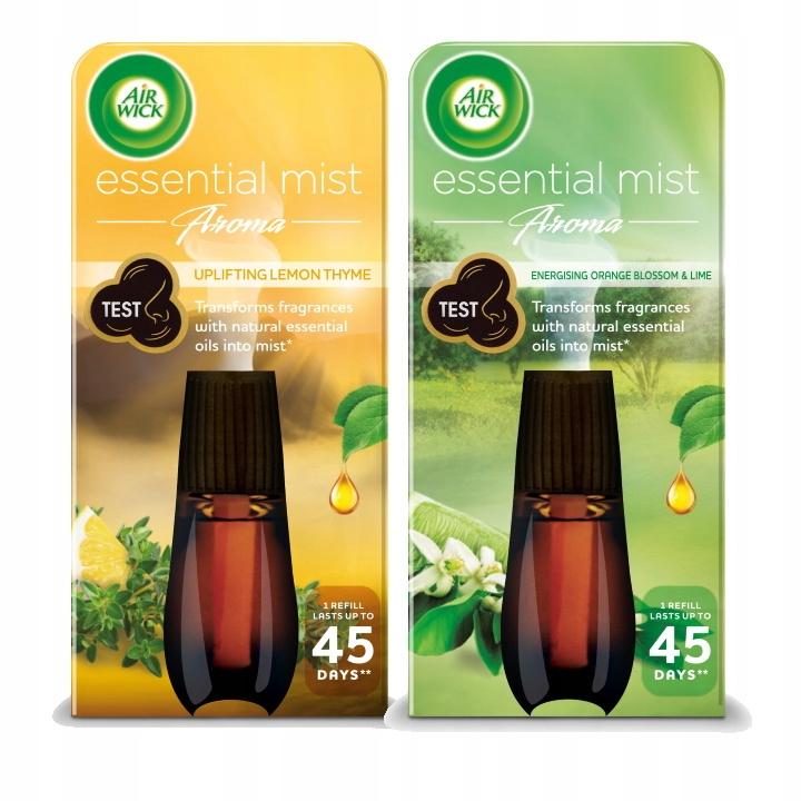 Air Wick Essential Mist Лимон Лайм 2 х Вклад