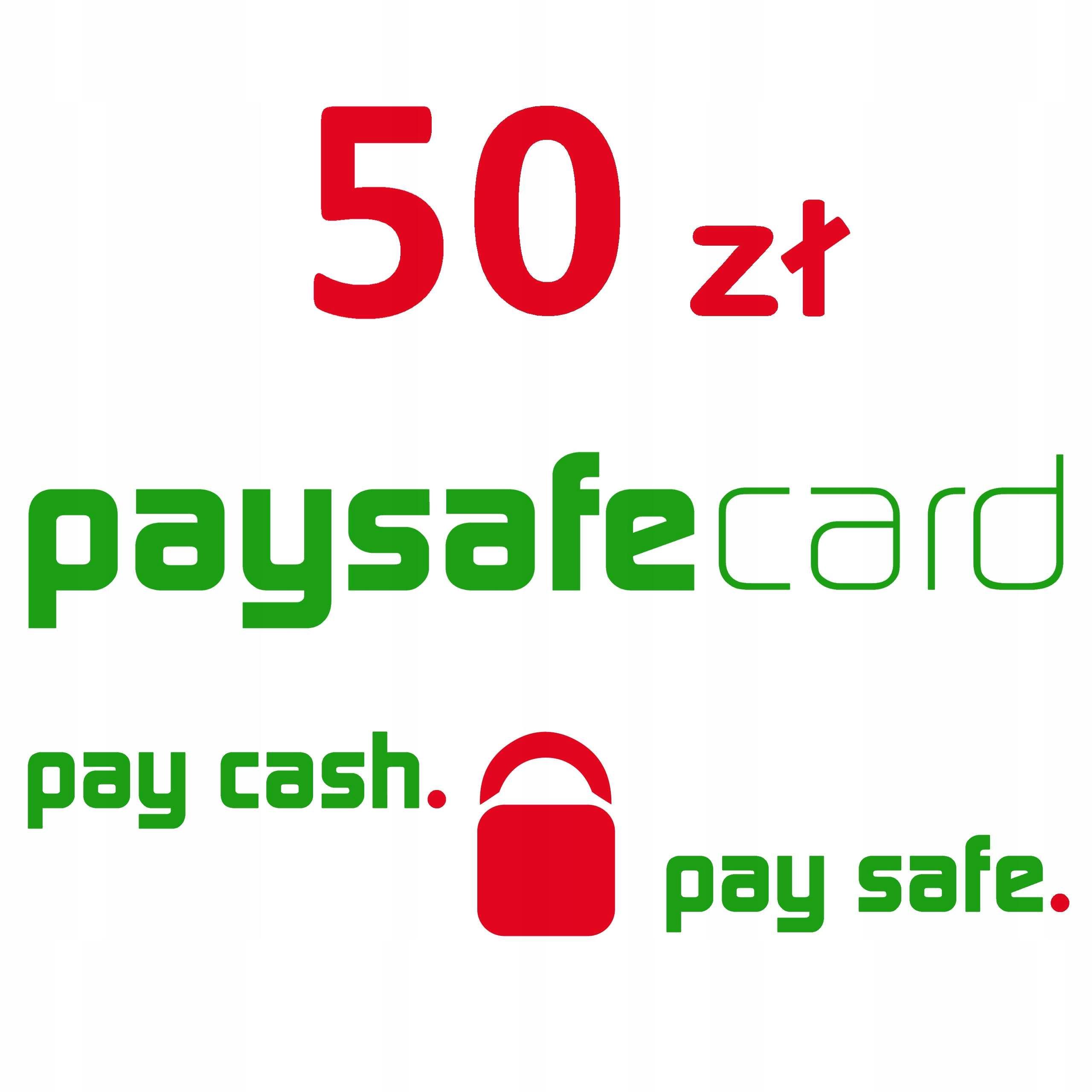 Paysafecard 50 Zl Psc Kod Pin Karta Portfel 7512220299 Allegro Pl