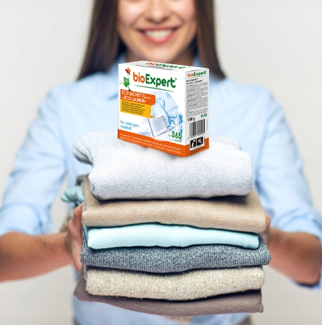pranie bez použitia chemikálií - INOVATÍVNE ECO DÁVKE mg+