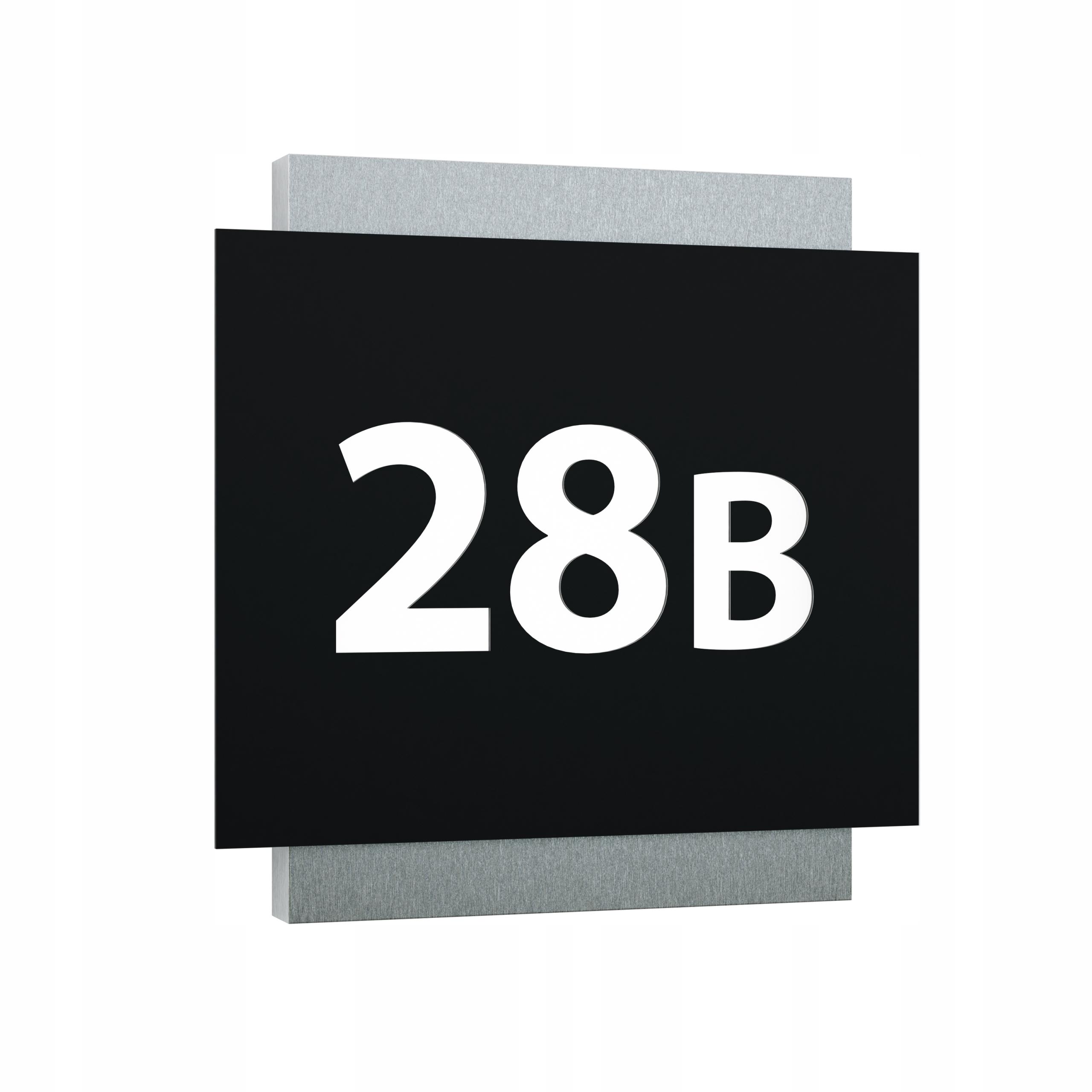 Podświetlany numer domu Tlayer BL LED 35x35cm