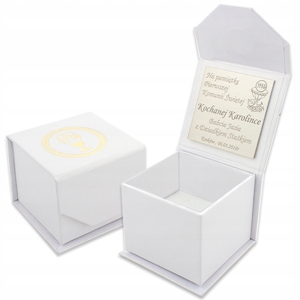 Item COMMUNICATION! Jewelry box Engraved with a Dedication