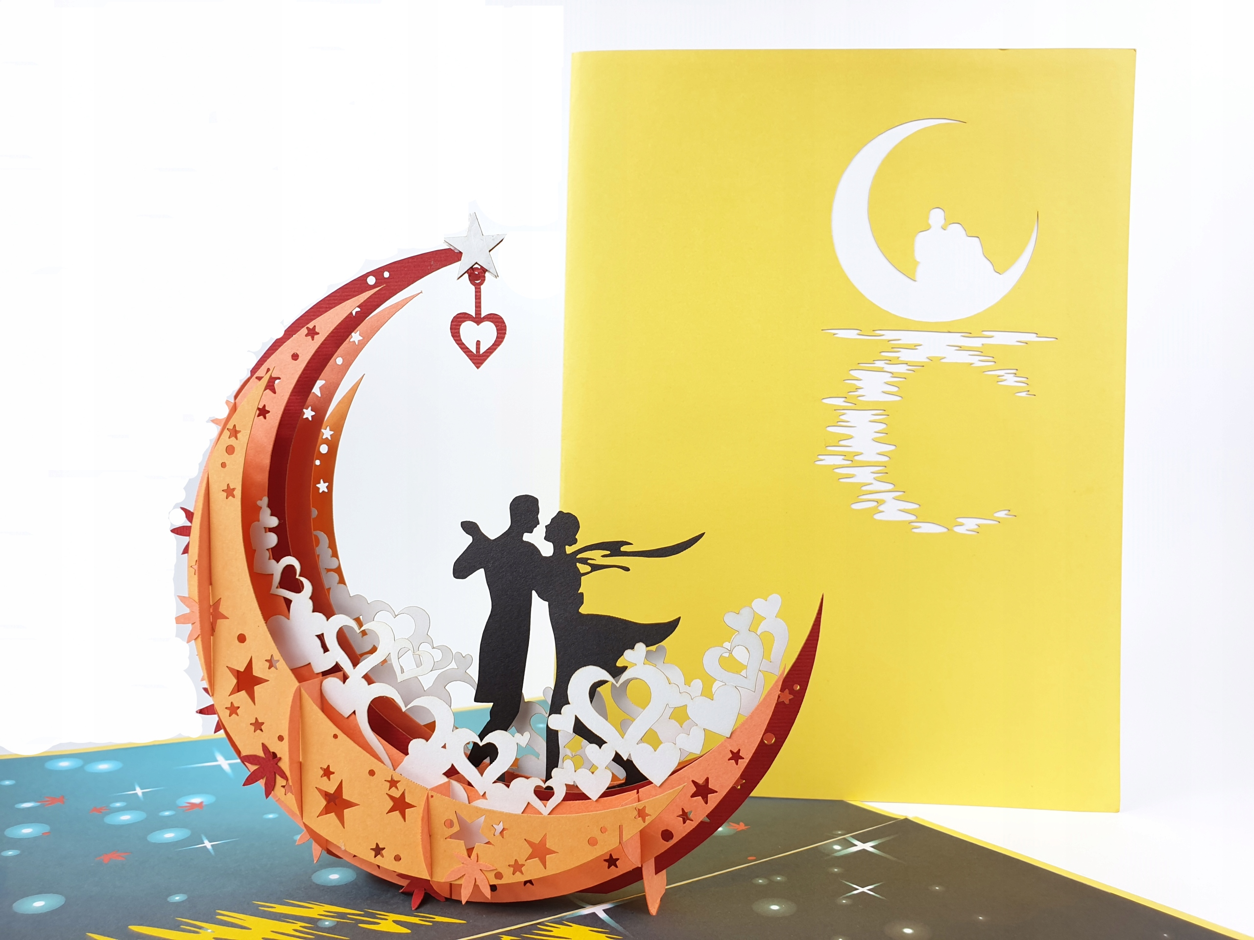 Item Couple in love 3d Card Love Wedding anniversary
