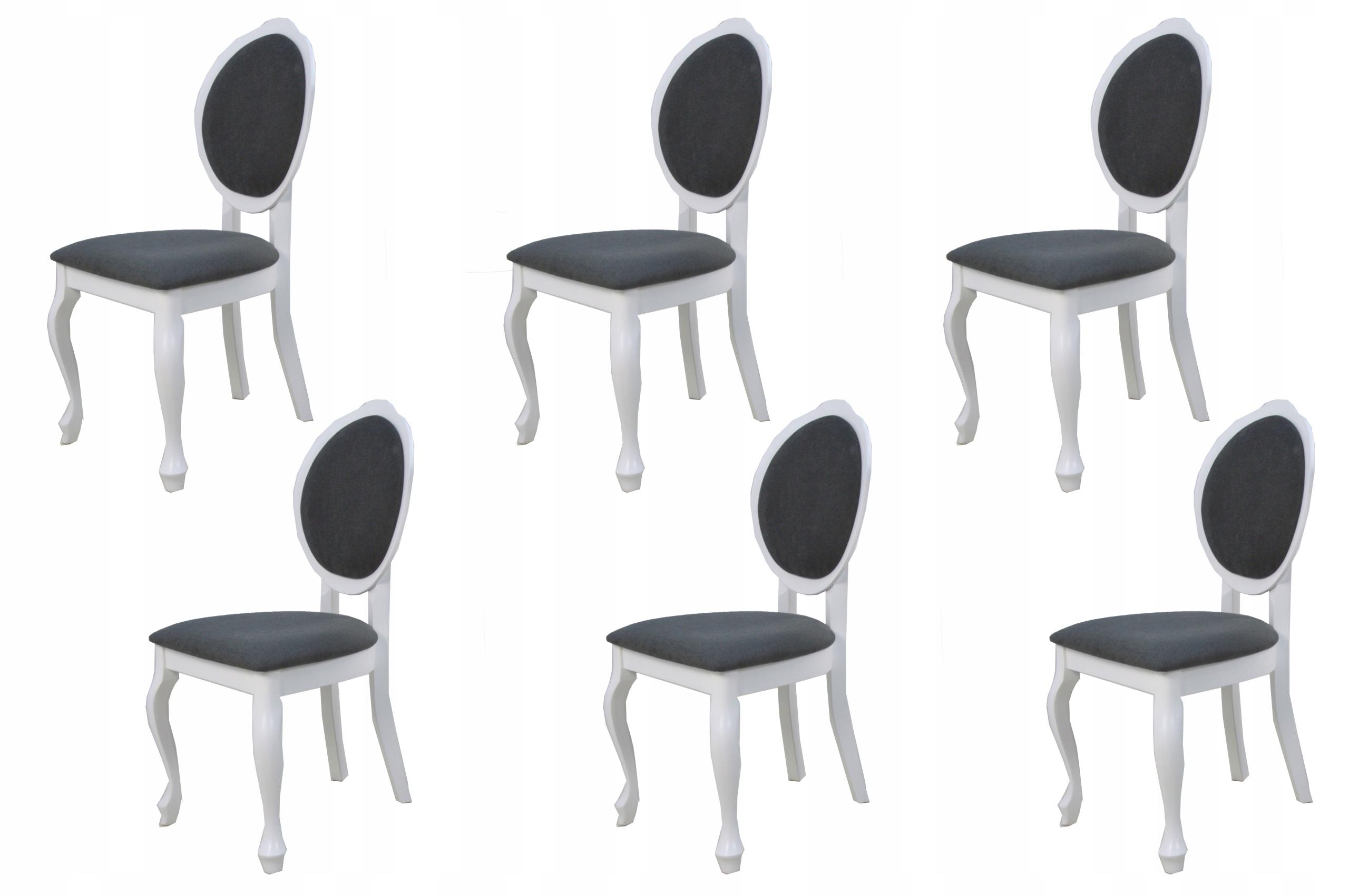 6x Glamour Retro stoličky do obývacej izby s výberom farieb