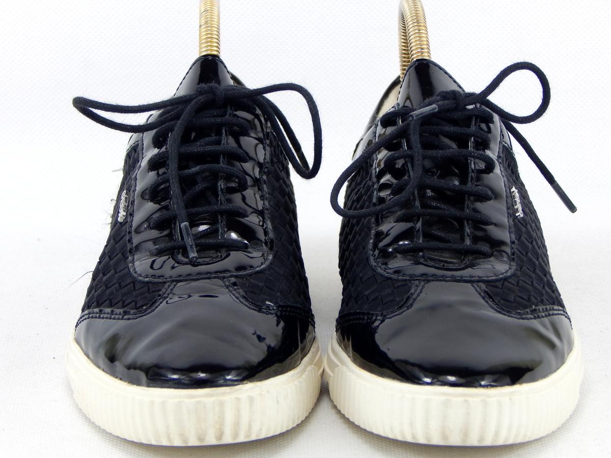 Buty ze skóry GEOX r35 dł 22 4 cm s BDB