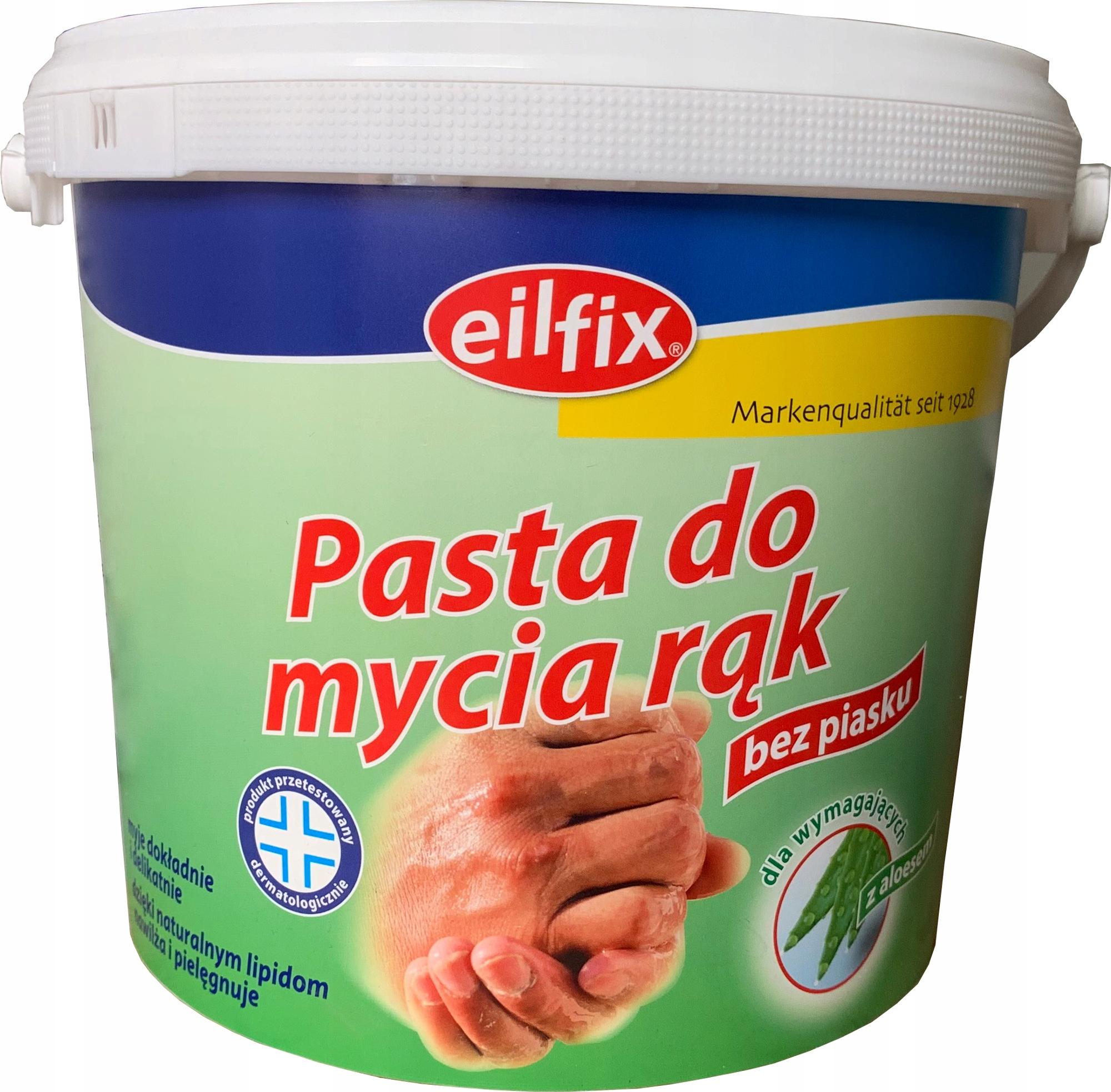 Паста BHP для мытья рук с алоэ вера Eilfix 5л