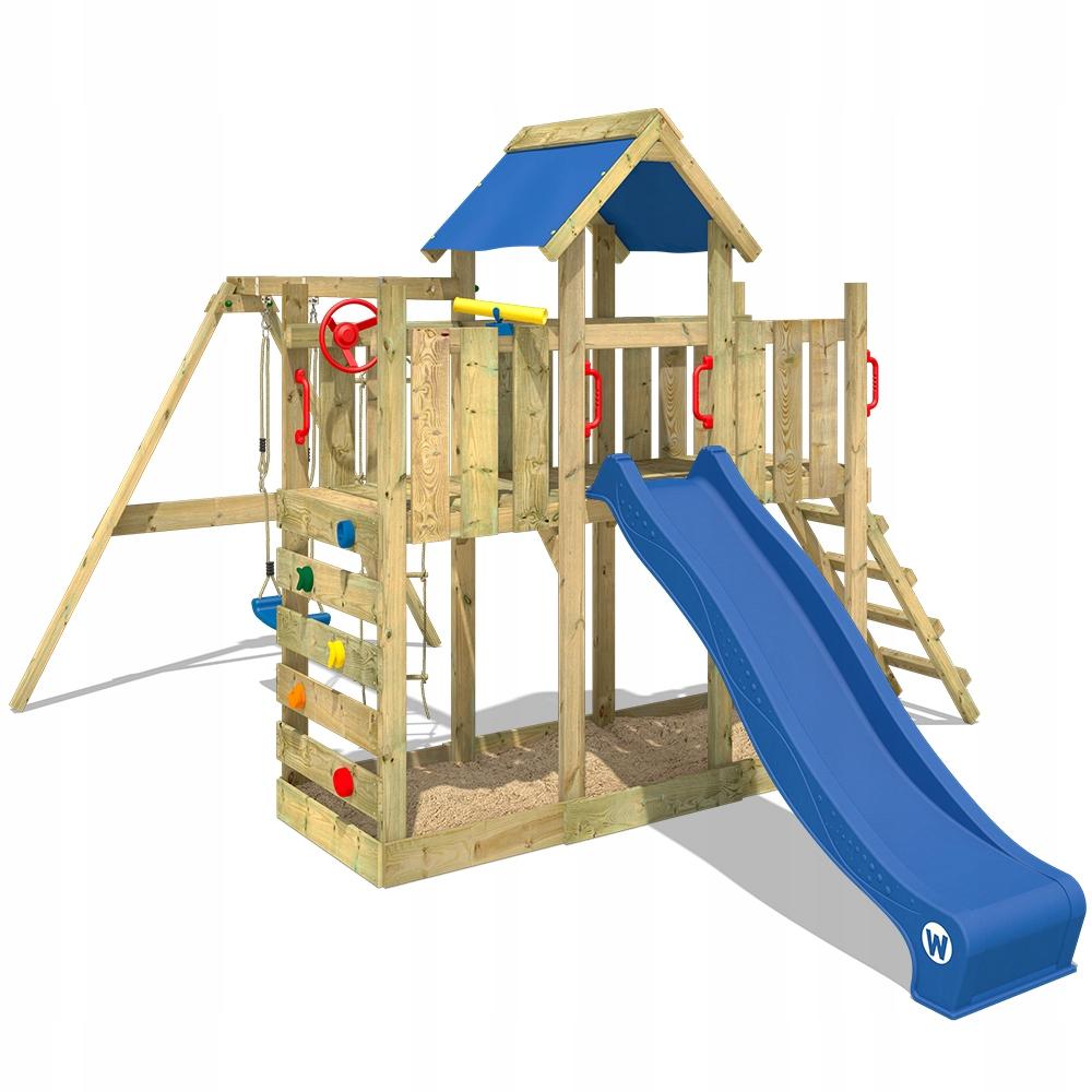 WICKEY TwinFlyer drewniany plac zabaw dla dzieci
