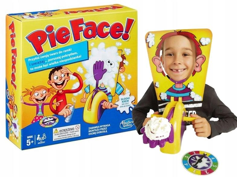 Hra koláč tvárové koláče v tvári / hasbro / b7063