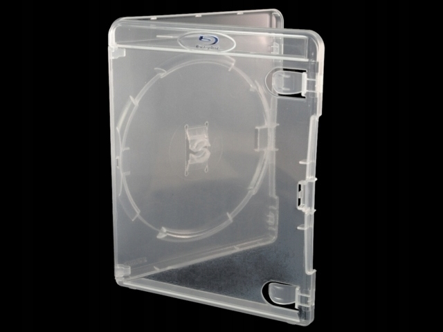 Item Box Blu-Ray Disc blu-Ray Transparent