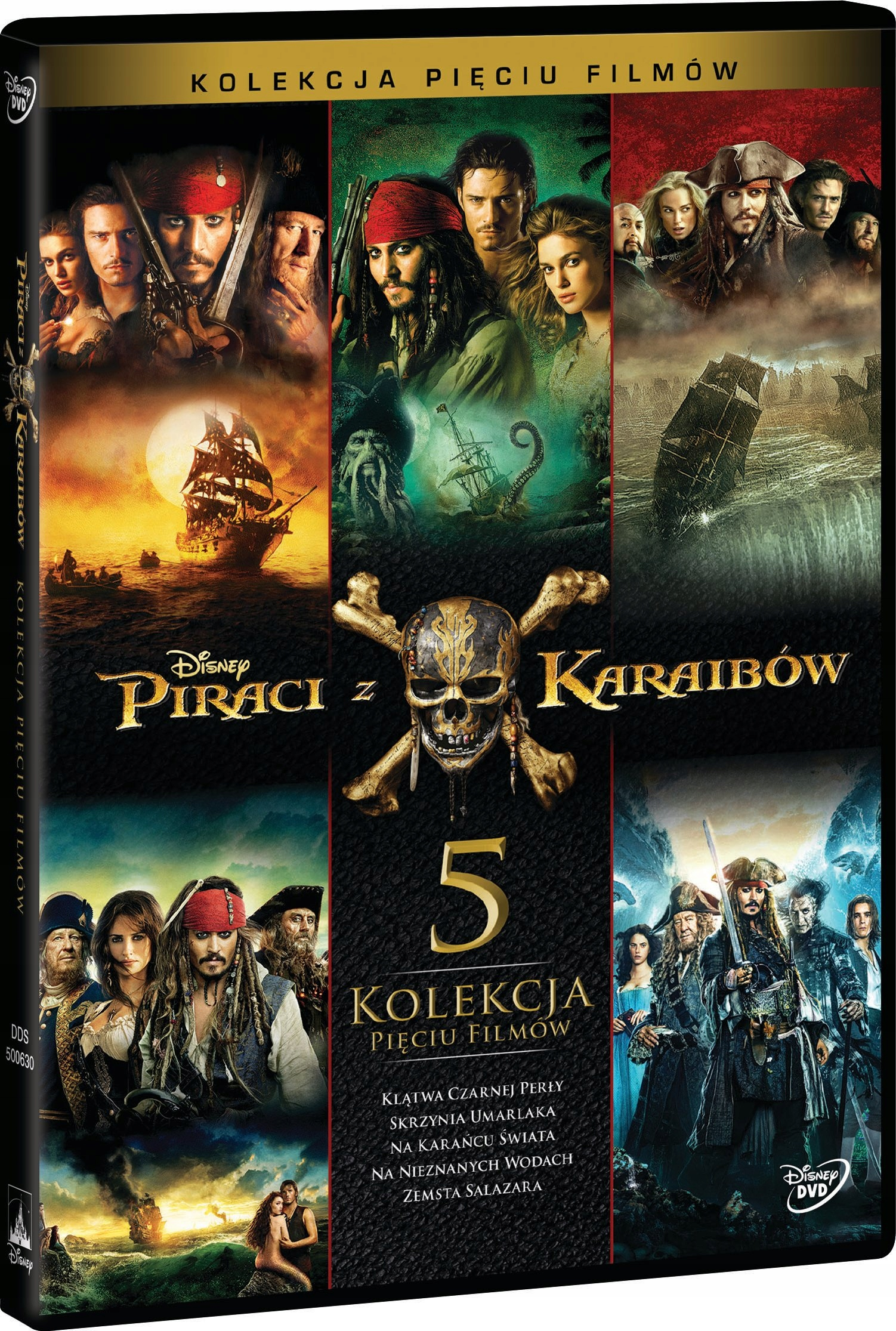 Item Pirates of the Caribbean. Pack of 5 movies [5 DVD BOX]