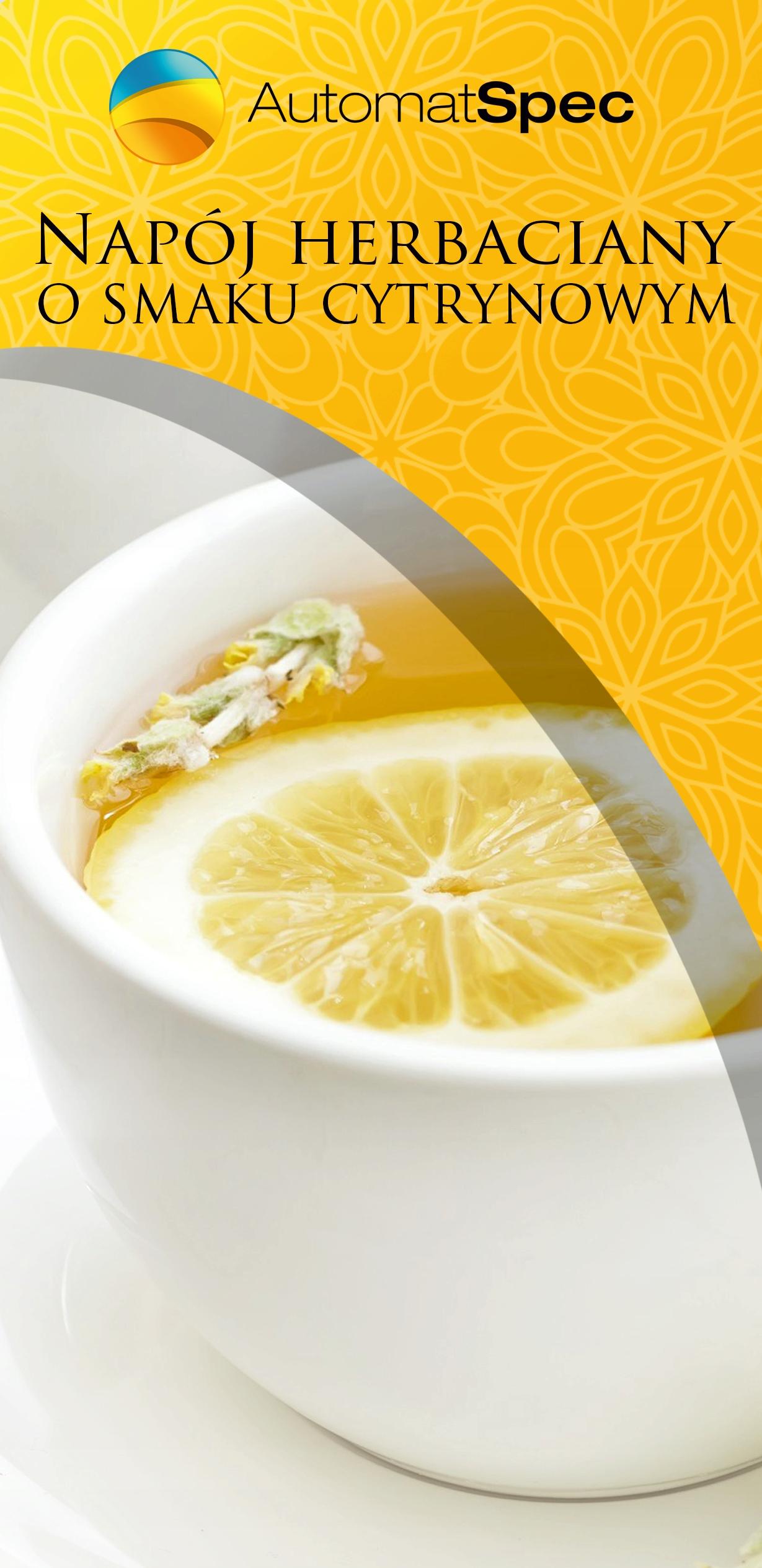 MOKATE herbata cytrynowa instant rozpuszczalna 1kg