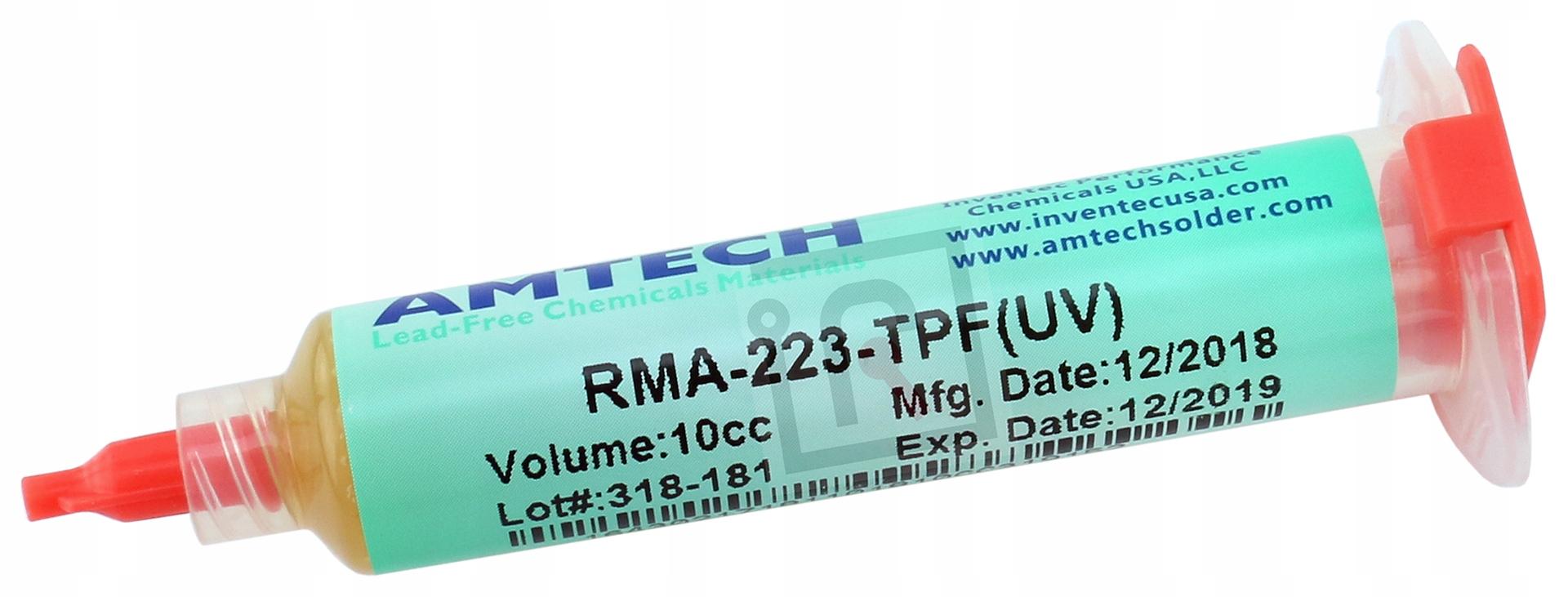 FLUX ФЛЮС BGA SMD AMTECH RMA-223-TPF(УФ) 10g