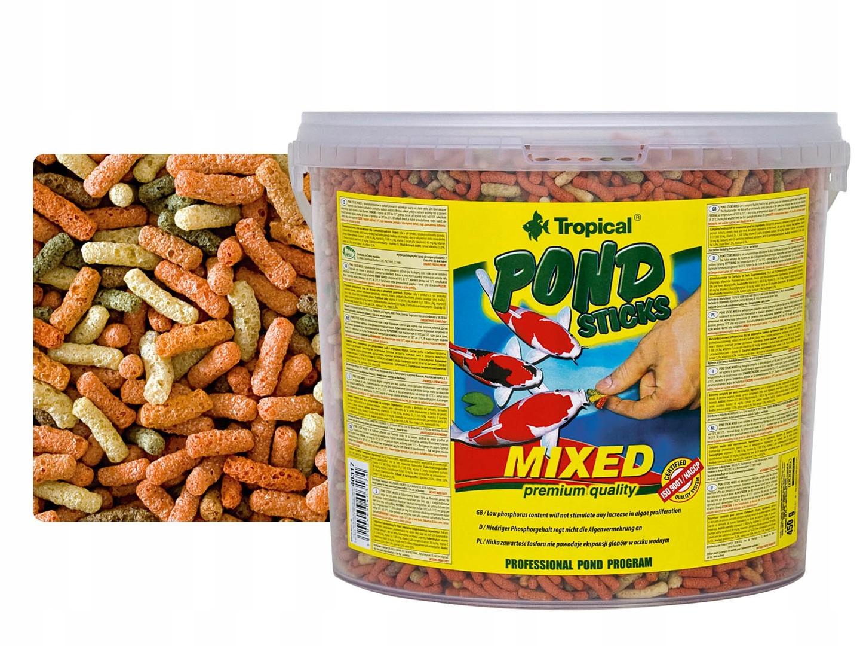 TROPICAL POND STICK MIXED 11L pokarm dla ryb 900g