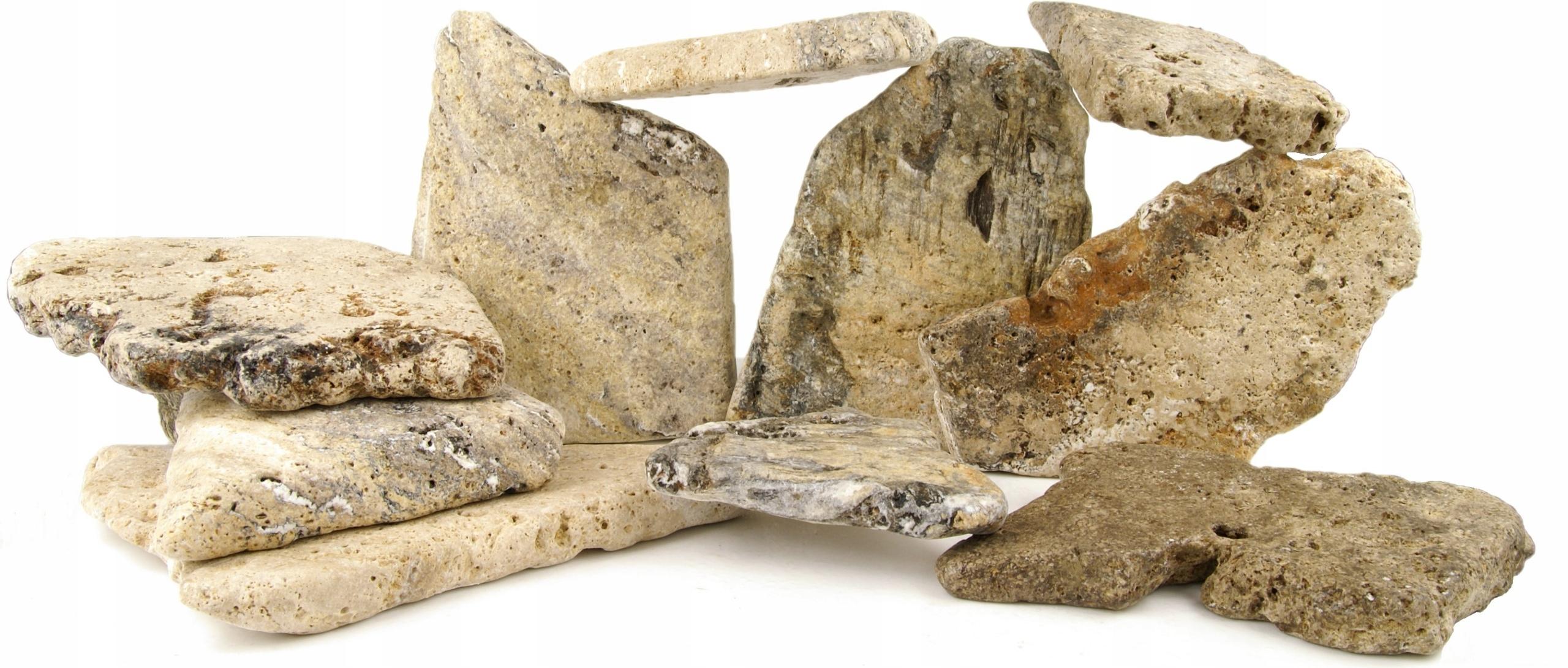 Kameň Airon Ploché skaly Pre Akvarijné Set 20kg