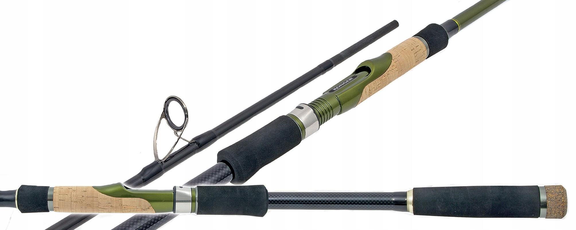Prút Konger Troker Spin UL - 270cm 2-8g wklejanką