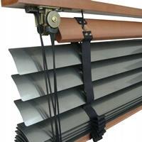 DREVENÉ RETRO ŽALÚZIE Klasický hliníkový bambus