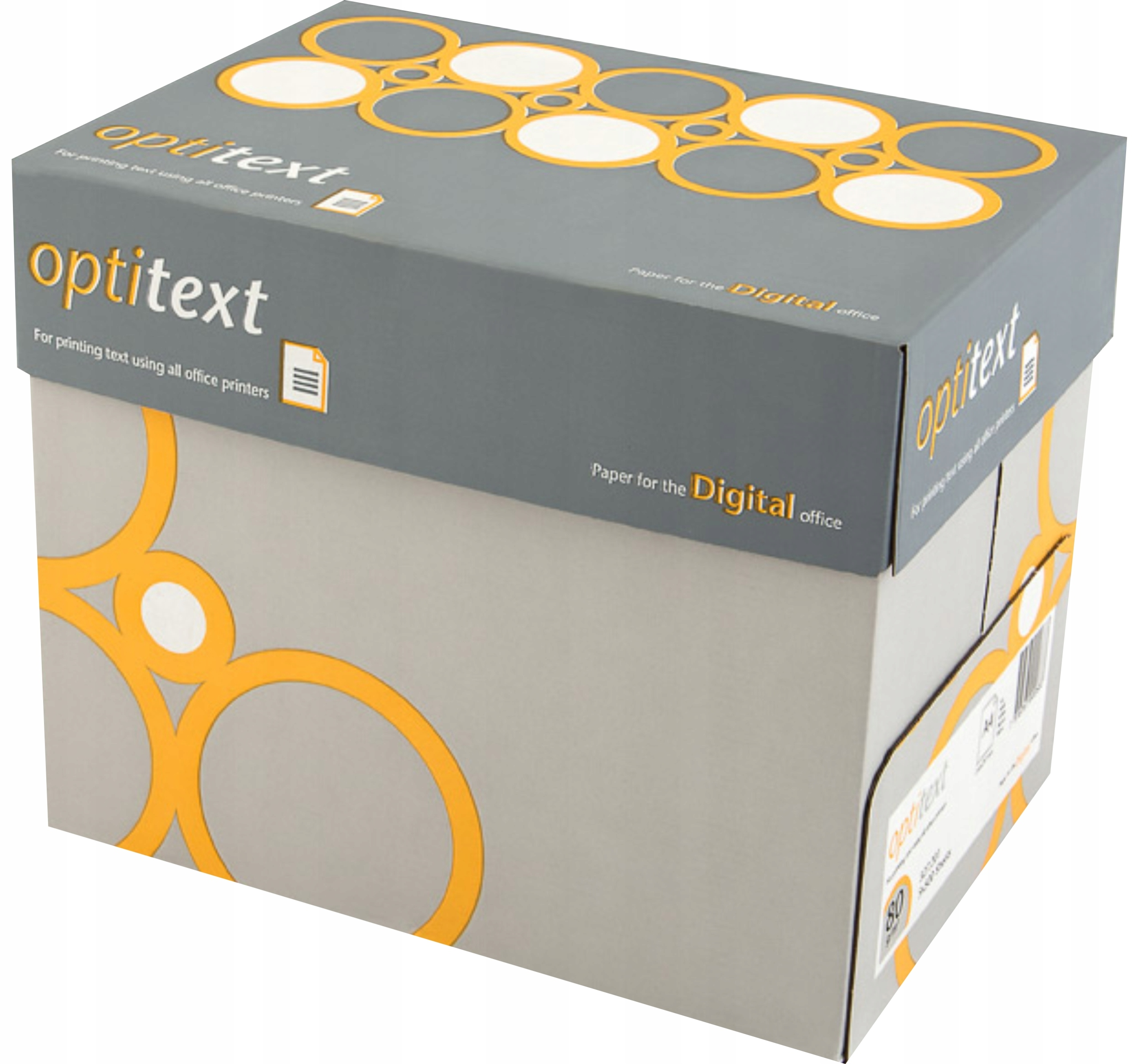 Item Paper copier white printer A4, 80g in the box 5 packs