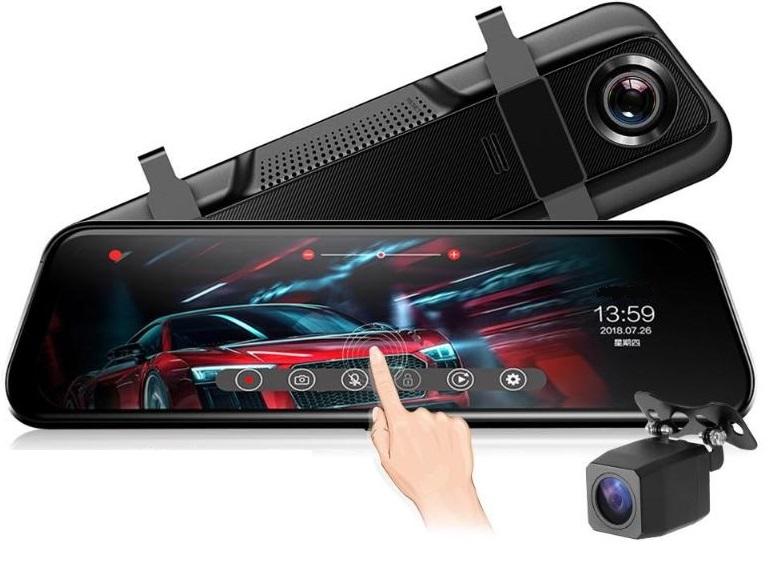 Видеорегистратор 9,66 INCH FullHD камера заднего вида