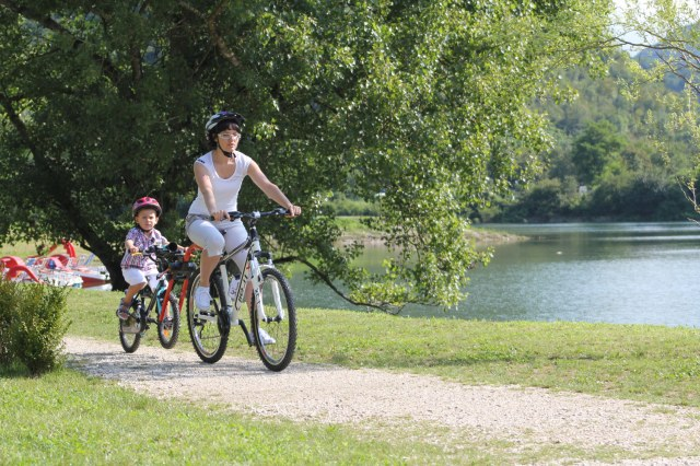 Hol holownik rowerowy roweru dziecka Trail Angel Liczba miejsc nie dotyczy