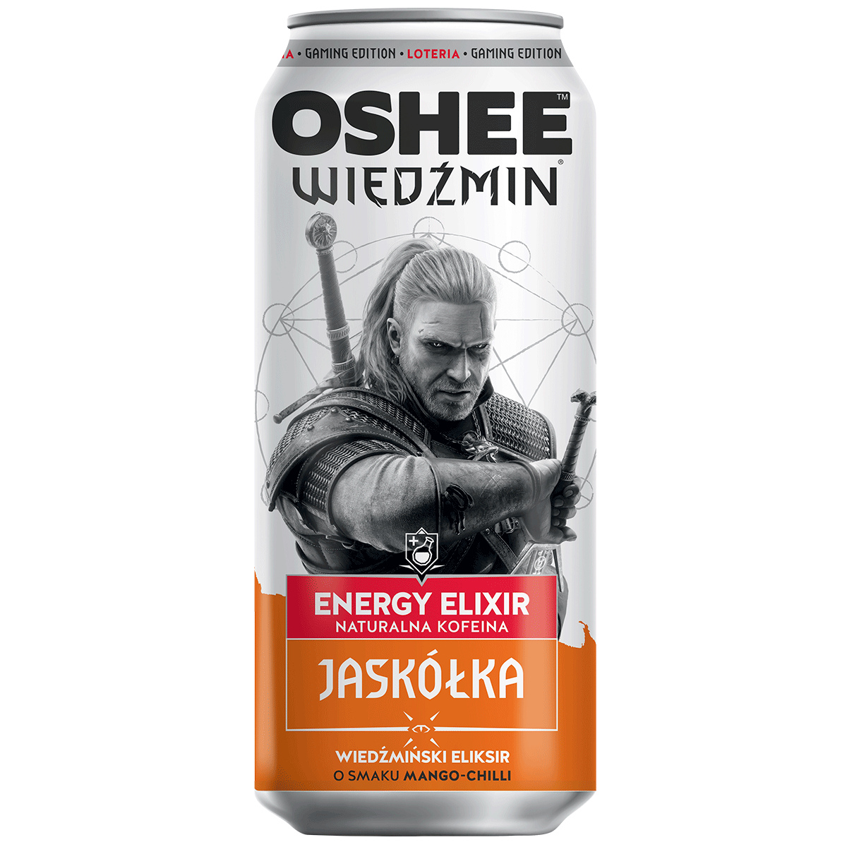 OSHEE THE WITCHER ENERGY DRINK SWALLOW 500 мл