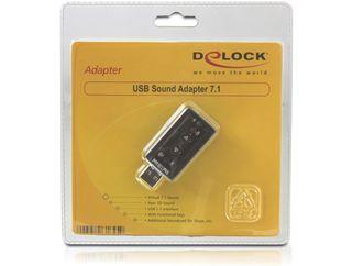 Купить Звуковая карта DELOCK 61645 (внешняя; USB 2.0) на Otpravka - цены и фото - доставка из Польши и стран Европы в Украину.