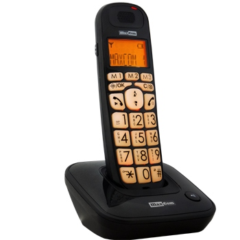 MC6800 CZARNY TELEFON DECT BB