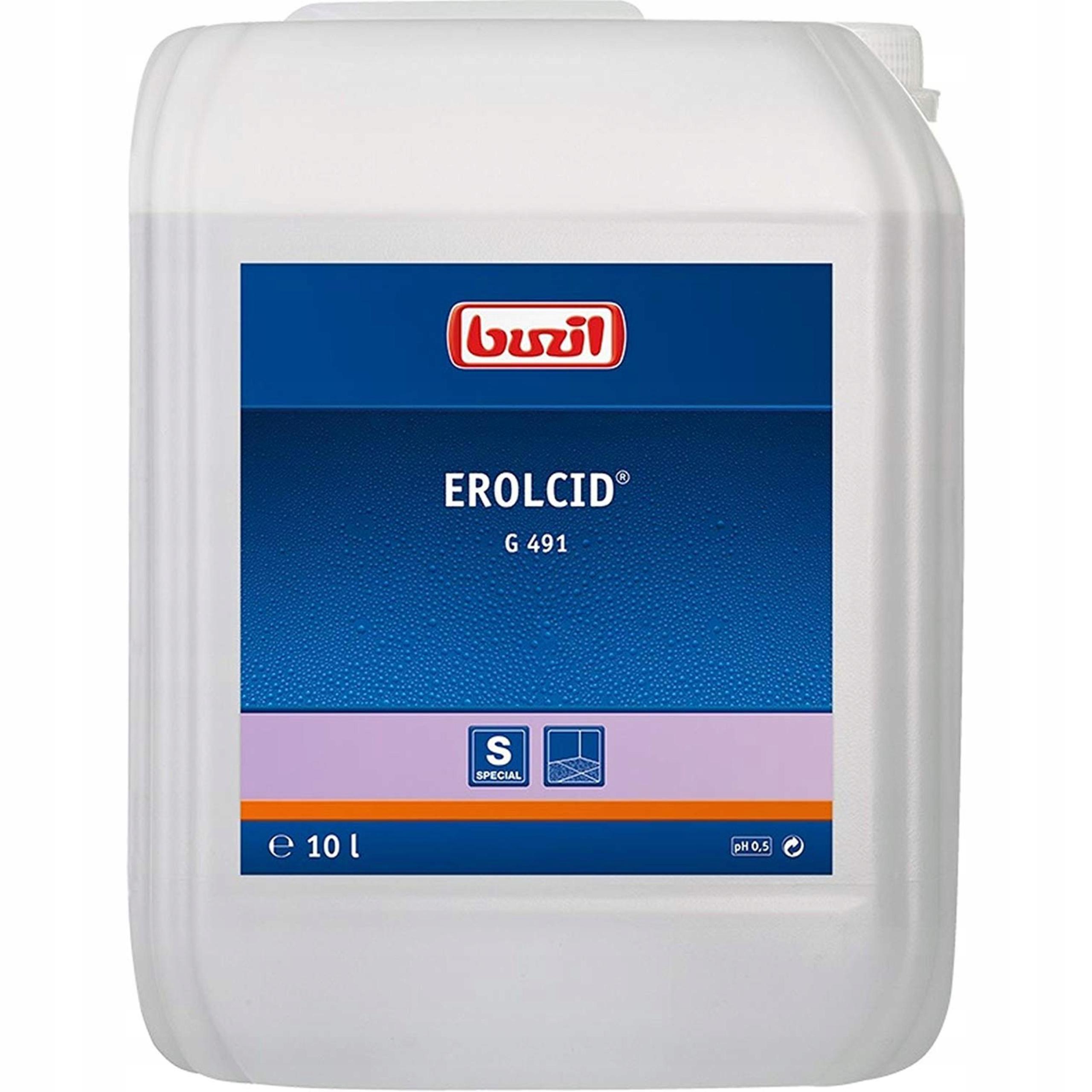 Środek czyszczący do gresu podłóg Buzil G491 10l