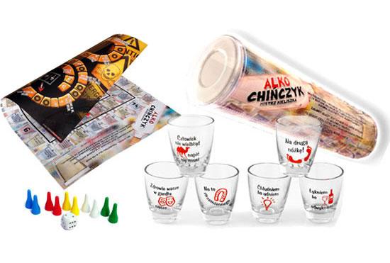 Item GAME 5in1 kit ALKOCHIŃCZYK + ROULETTE + GLASSES