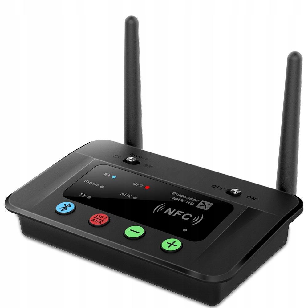 Купить Nadajnik Odbiornik Transmiter Audio Bluetooth NFC на Otpravka - цены и фото - доставка из Польши и стран Европы в Украину.