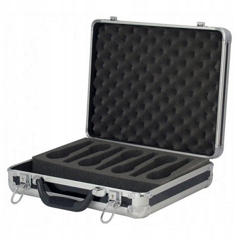 Item Case na 7 Mikrofonów i kable